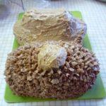 Новогодний торт «Собачка в сгущенке»