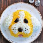 Новогодний салат «Собачка»