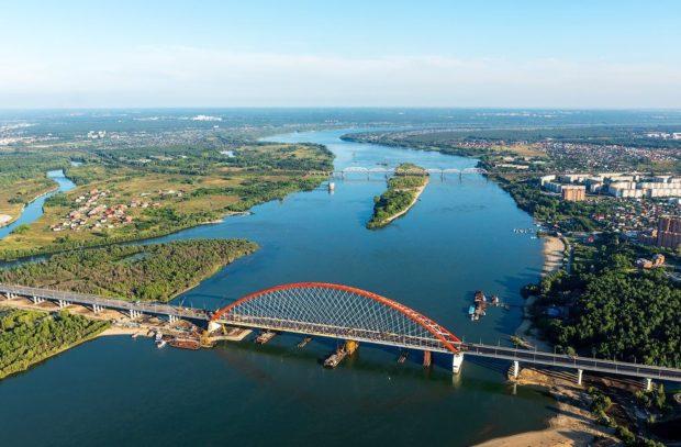 Мост через Обь 2018