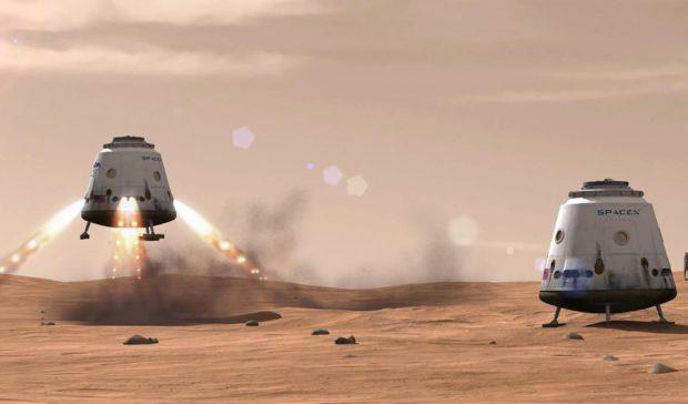 Такси на Марс в 2018 году