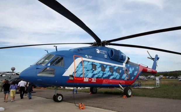 Вертолет Ми-38 2018 год