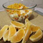 Салат Королевский с апельсинами