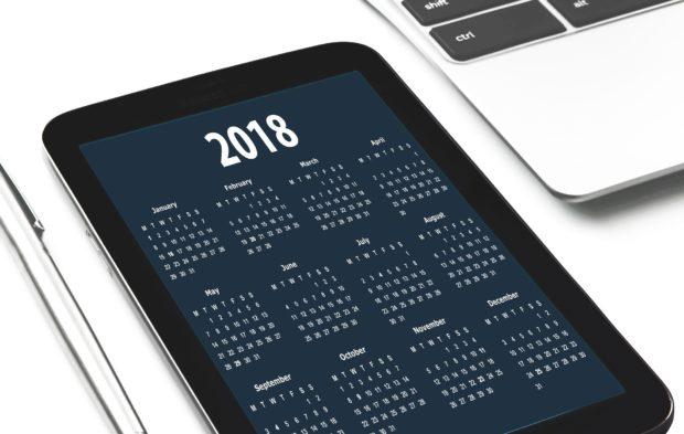 Знаменательные и памятные даты в 2018 году
