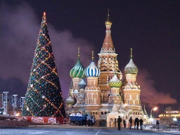 Москва: главная елка страны