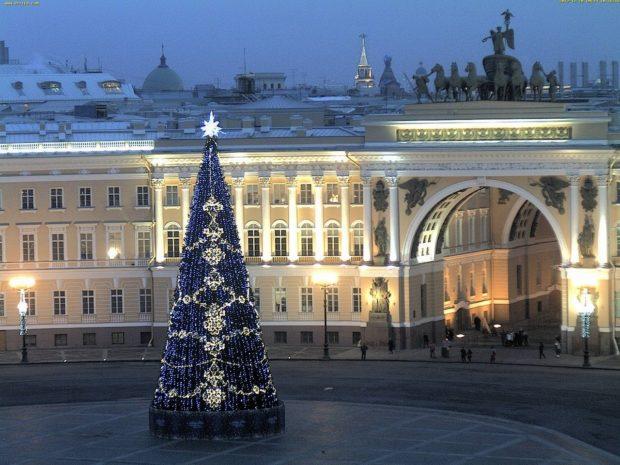Санкт-Петербург елка 2018