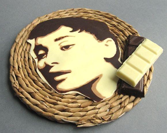 Портреты из шоколада