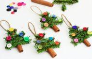 Игрушки на елку своими руками на Новый год 2018