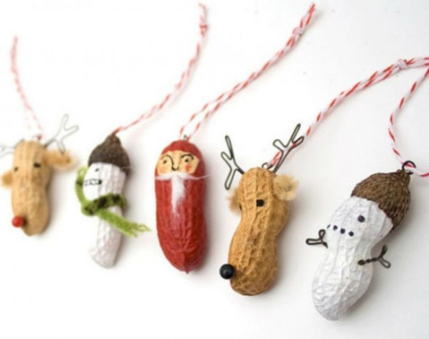 Арахисовые игрушки на елку