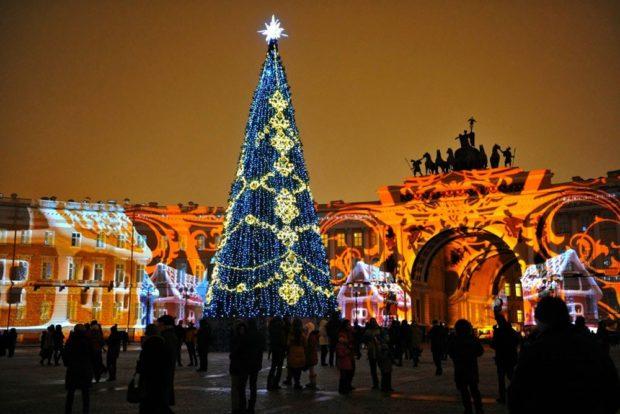 Санкт-Петербург на Новый год 2018