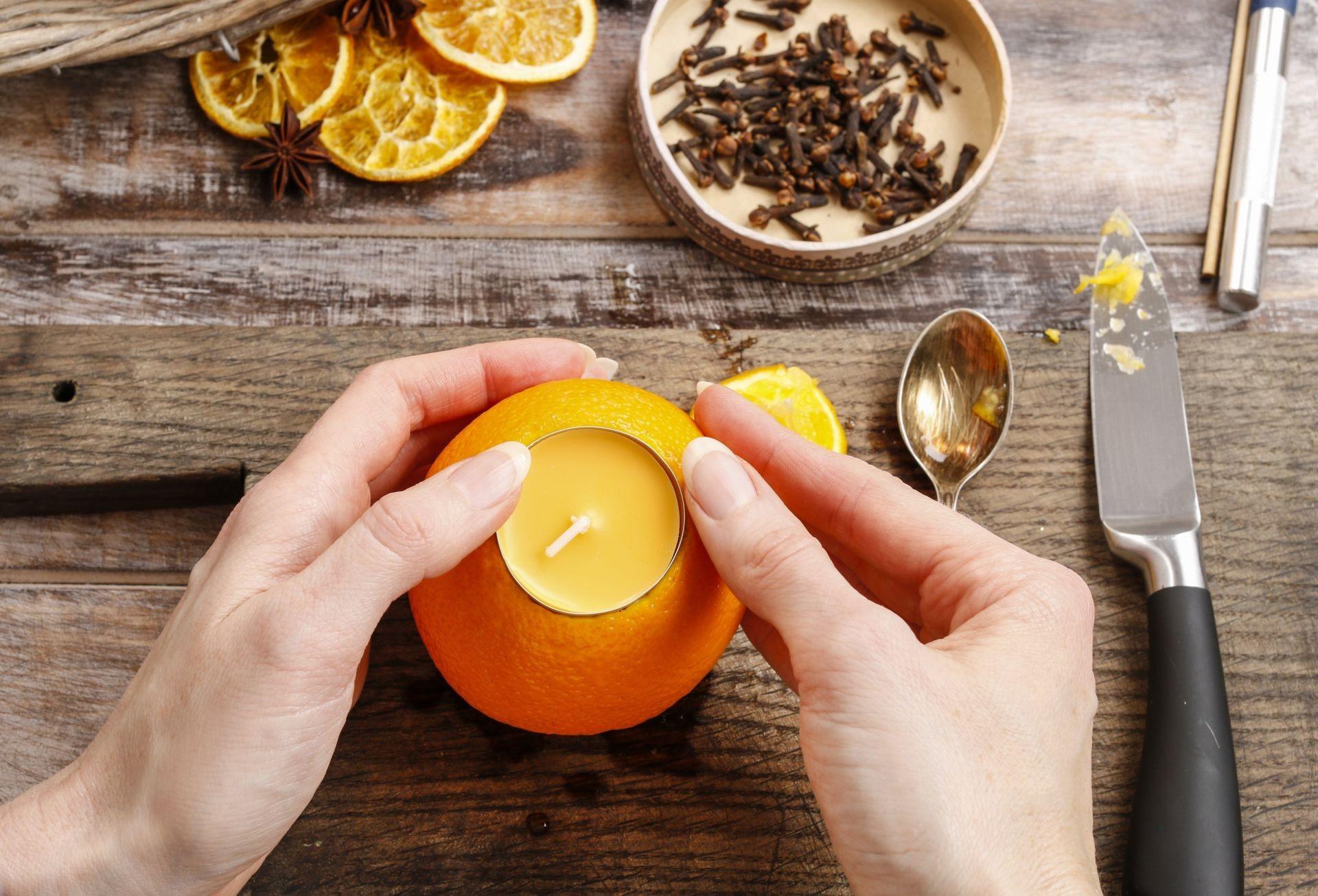 Саше из апельсинов своими руками