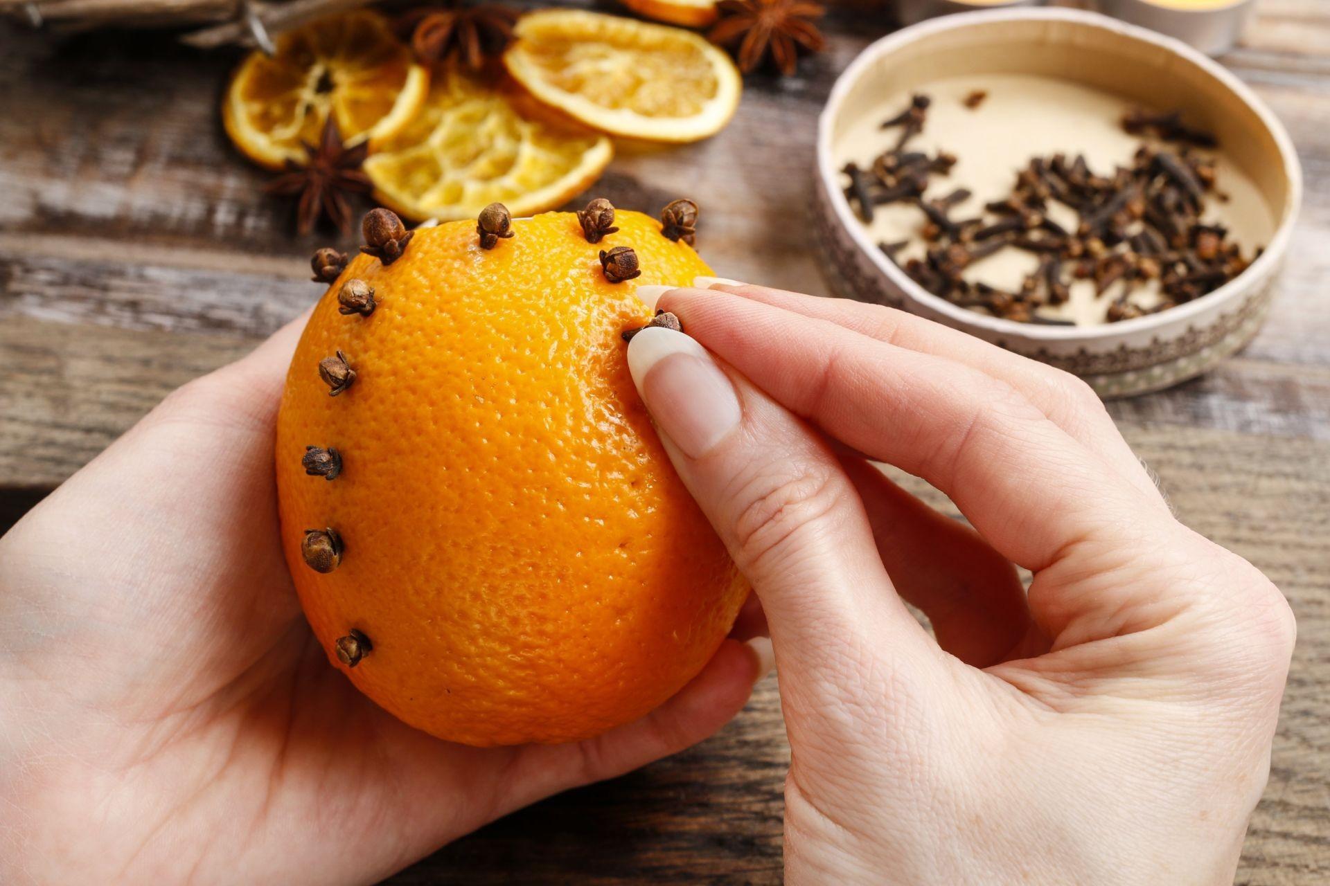 Ароматизатор своими руками апельсин