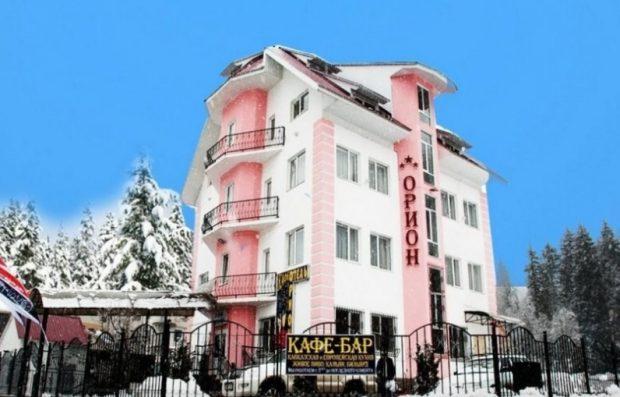 Гостиница Орион, Домбай
