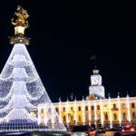 Тбилиси Новый год 2018