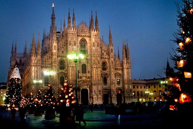 Милан Новый год 2018
