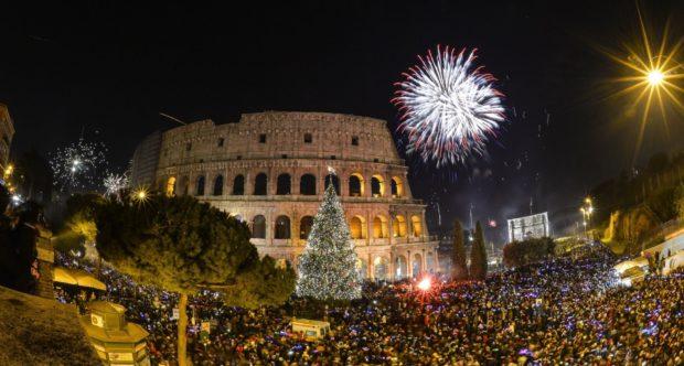 Рим Новый год 2018