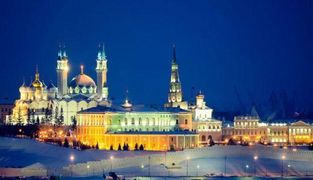Новый год 2018 в Казани