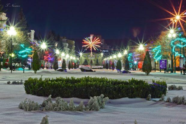 Новый год 2018 в Кисловодске