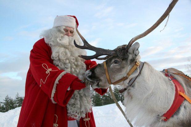 Новый год 2018 в Лапландии
