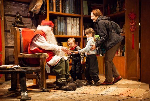 Санта Клаус Лапландия 2018