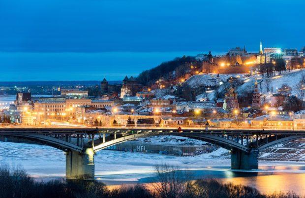 Нижний Новгород зима