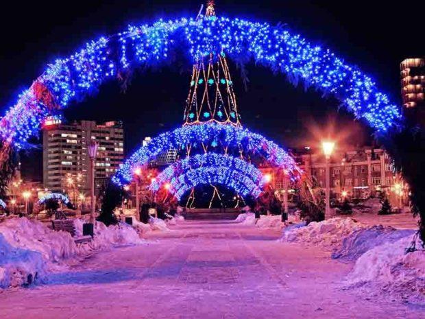 Нижний Новгород Новый год 2018