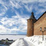 Нижегородский Кремль зима