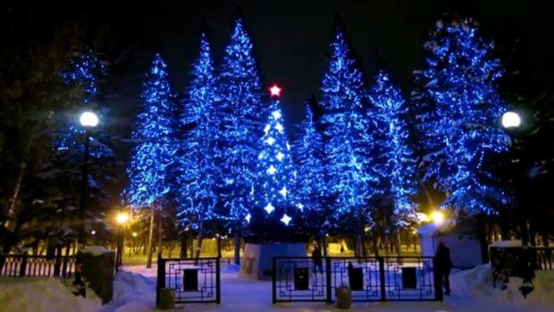 Новый год 2018 в Новосибирске