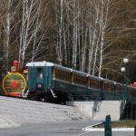 Детский поезд Новосибирск