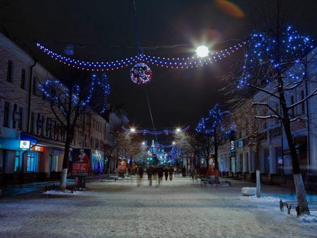 Новый год 2018 в Ярославле
