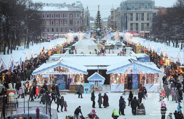 ярмарка Ярославль Новый год 2018