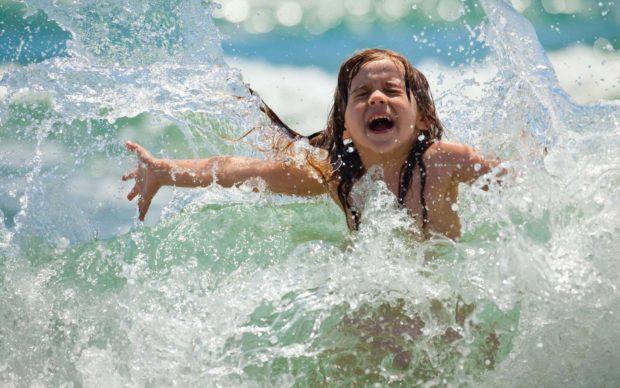 Дети азовское море