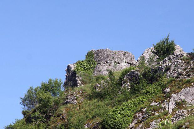 Подгорица Черногория крепость Медун