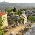 Бар Черногория Остатки Кафедрального собора