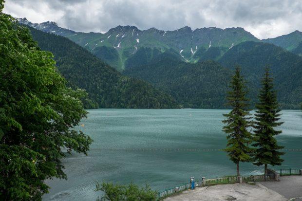 озеро Пицунда