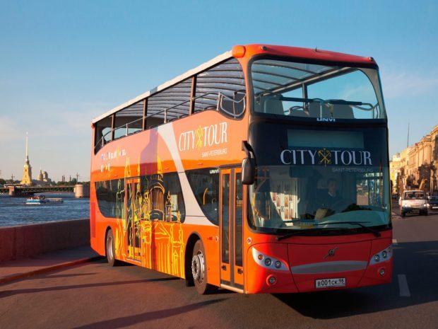 Автобусная экскурсия City Tour Питер