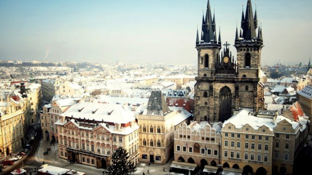 Прага на Новый год 2018