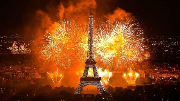 Париж Новый год