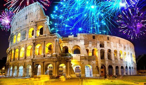 Рим Новый год