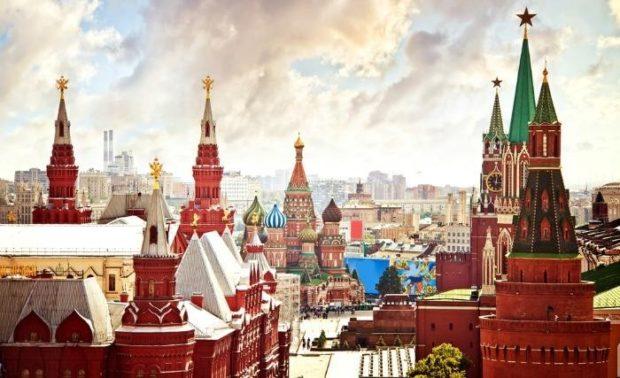 Новый год 2018 по России