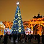 Санкт-Петербург Рождество 2018