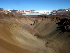 Сухие Долины Антарктида