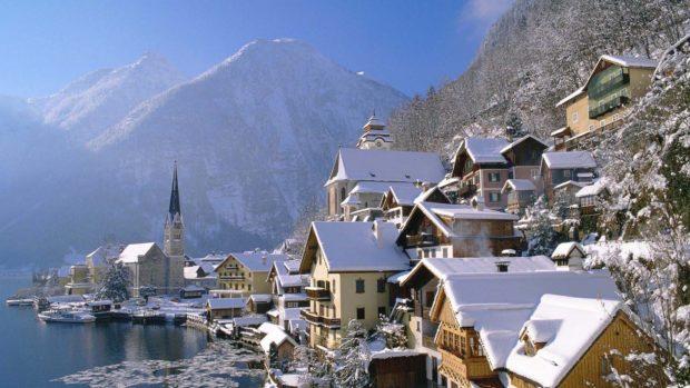 Австрия Новый год 2018