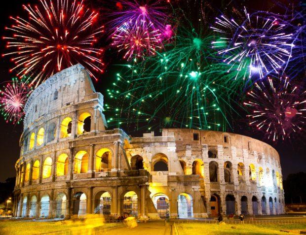 Италия Новый год 2018
