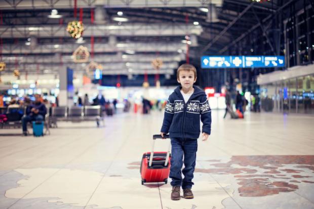 Ребенок аэропорт