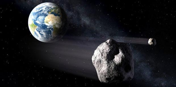 ТВ145 Астероид в 2018 году