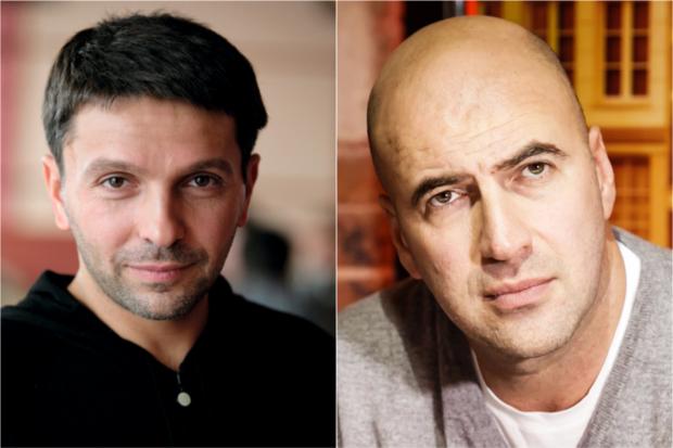 Ростислав Хаит и Леонид Барац