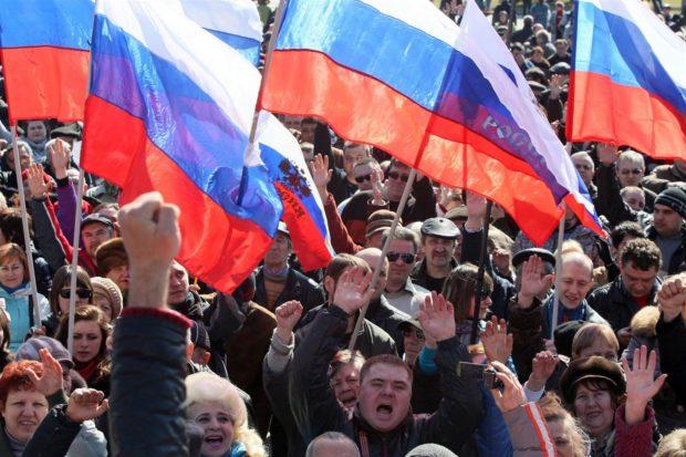 россия митинг