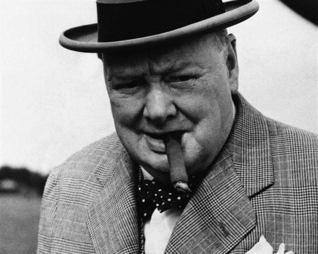 Уинстона Черчилль