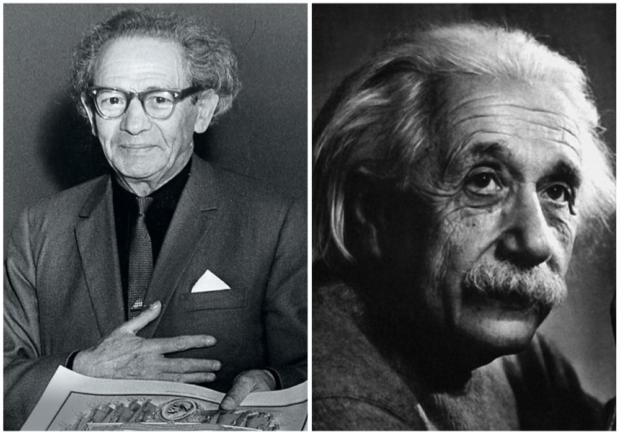 Вольф Мессинг и Альберт Эйнштейн