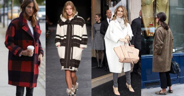 пальто куртки весна 2019: объемные в клетку красное белое белое однотонное коричневое